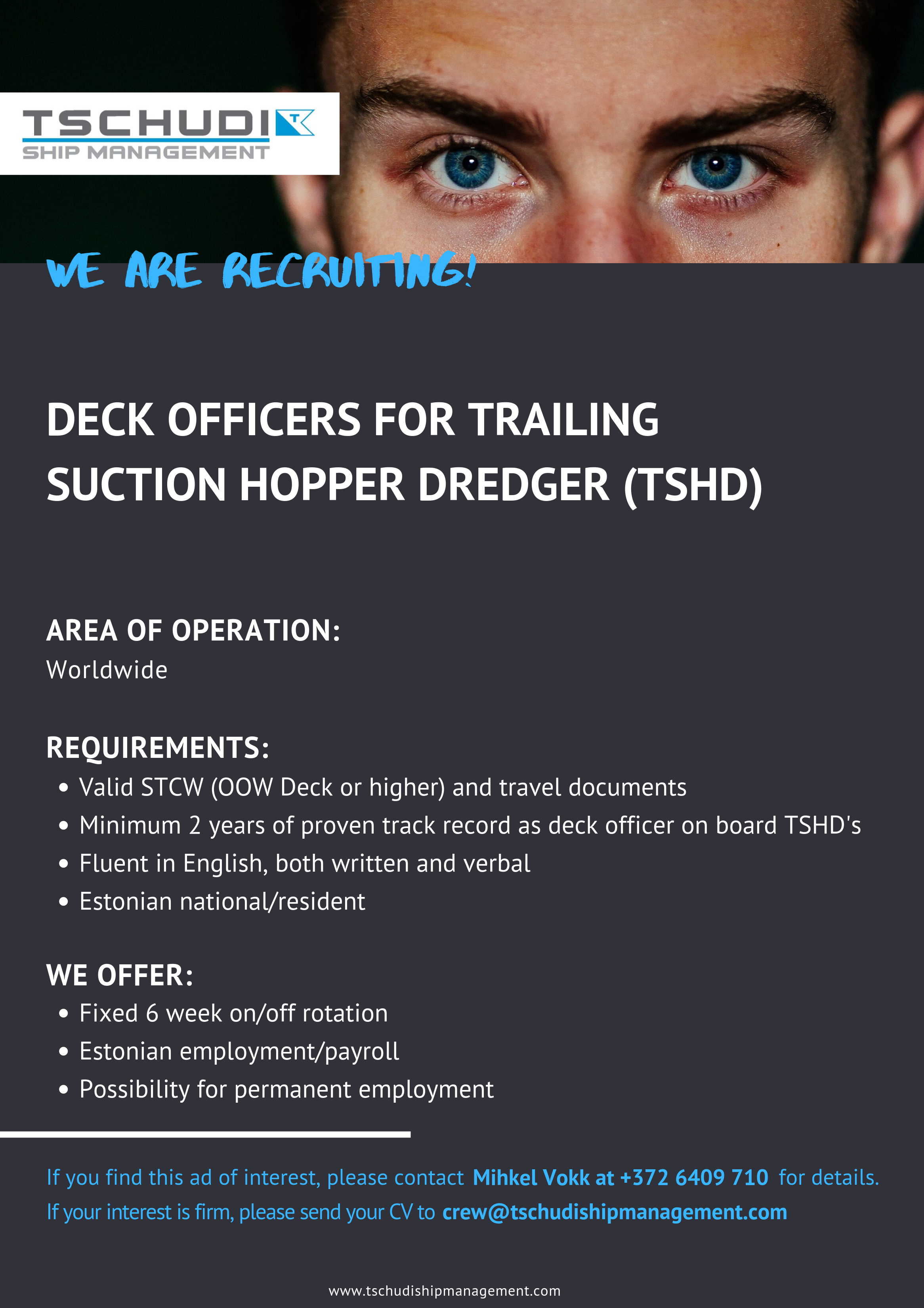 Vacancies At Sea - Ship Management